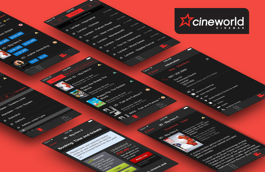 Cineworld iOS Feature
