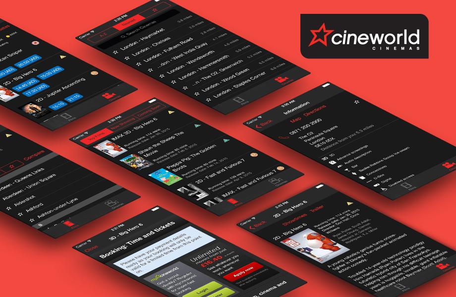 Cineworld iOS Feature