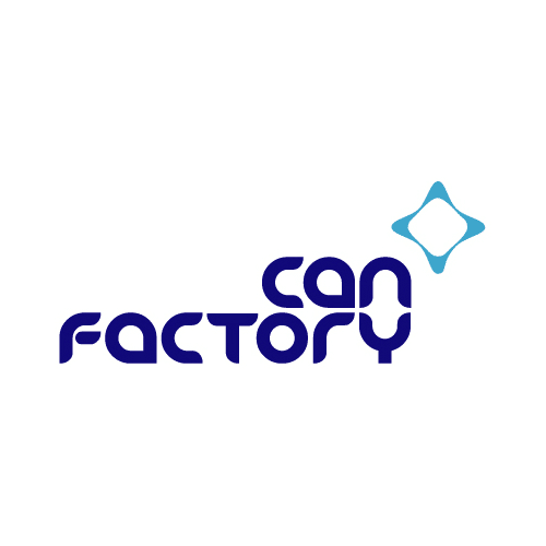 Can Factory Square Logo for Circle Crop