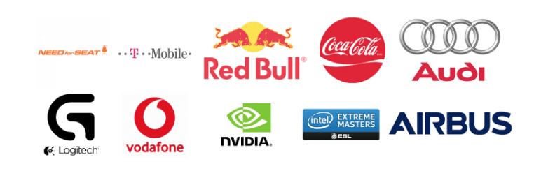 Major esports sponsors
